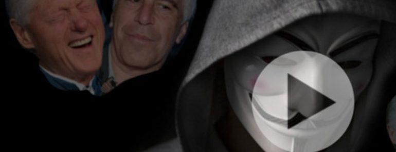 Anonymous leaks Bill Clinton sex tape