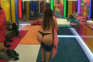 Chloe Ferry Shaking Her Big Ass On CBB's
