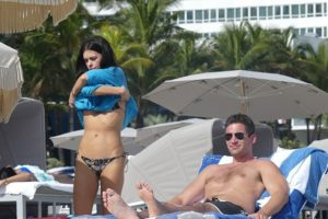 Katie Lee Black Bikini Tops