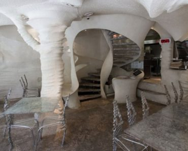 Salt Restaurant in Iran