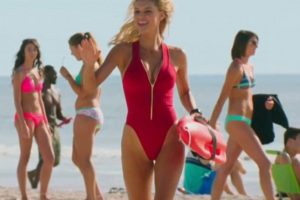 Kelly Rohrbach baywatch movie trailer