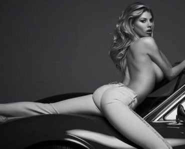 Charlotte McKinney Topless Photoshoot For Maxim
