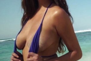 Chrissy Teigen bathing suit photo shoots