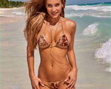 Hannah Jeter pregnant swimsuit photos