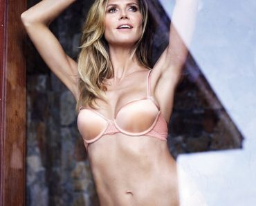 Heidi Klum Presents New Intimates Lingerie Collection