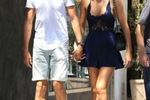Jenson Button, Girlfriend Brittny Ward