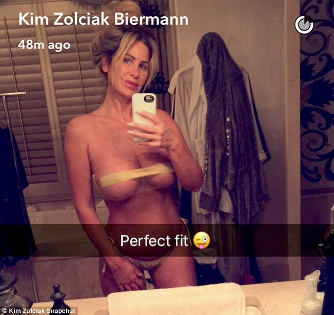 Kim Zolciak Snapchat