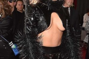 Lady Gaga Grammy wardrobe malfunction