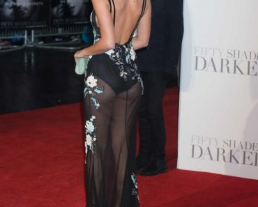 Lucy Mecklenburgh - See Through Dress
