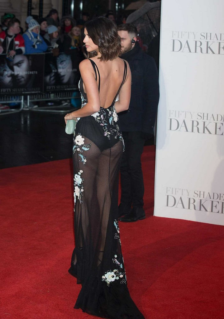 Lucy Mecklenburgh 1 Lucy Mecklenburgh See Through to the Thong and Mighty Melons in London