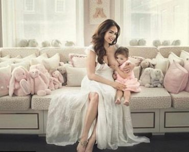 Tamara Ecclestone Daughter Breastfeeding