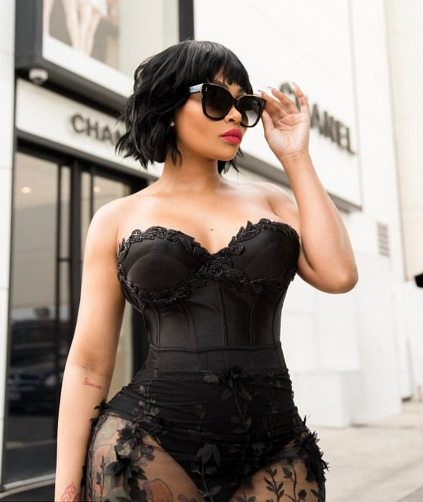 Blac Chyna See Through dress Blac Chyna In A See Through Dress (3 Pics)