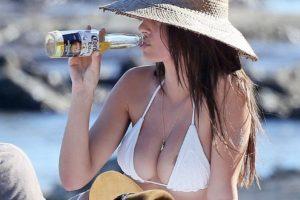 Emily Ratajkowski - white bikini top