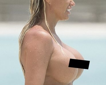 Katie Price topless photo