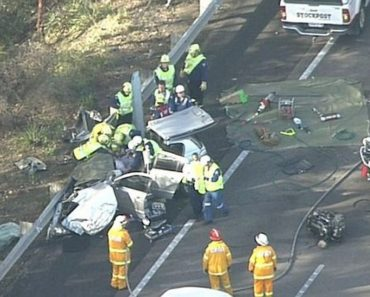 Car accident in Sydney