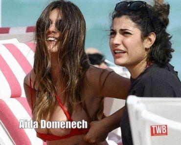 Aida Domenech topless