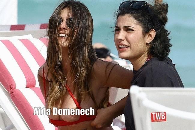Aida Domenech topless 2 Aida Domenech Topless Photos (4 Pics)