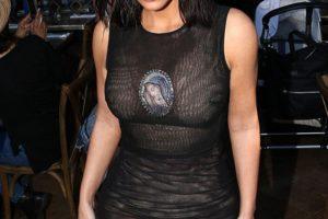 Kim Kardashian Wears Virgin Mary Costume