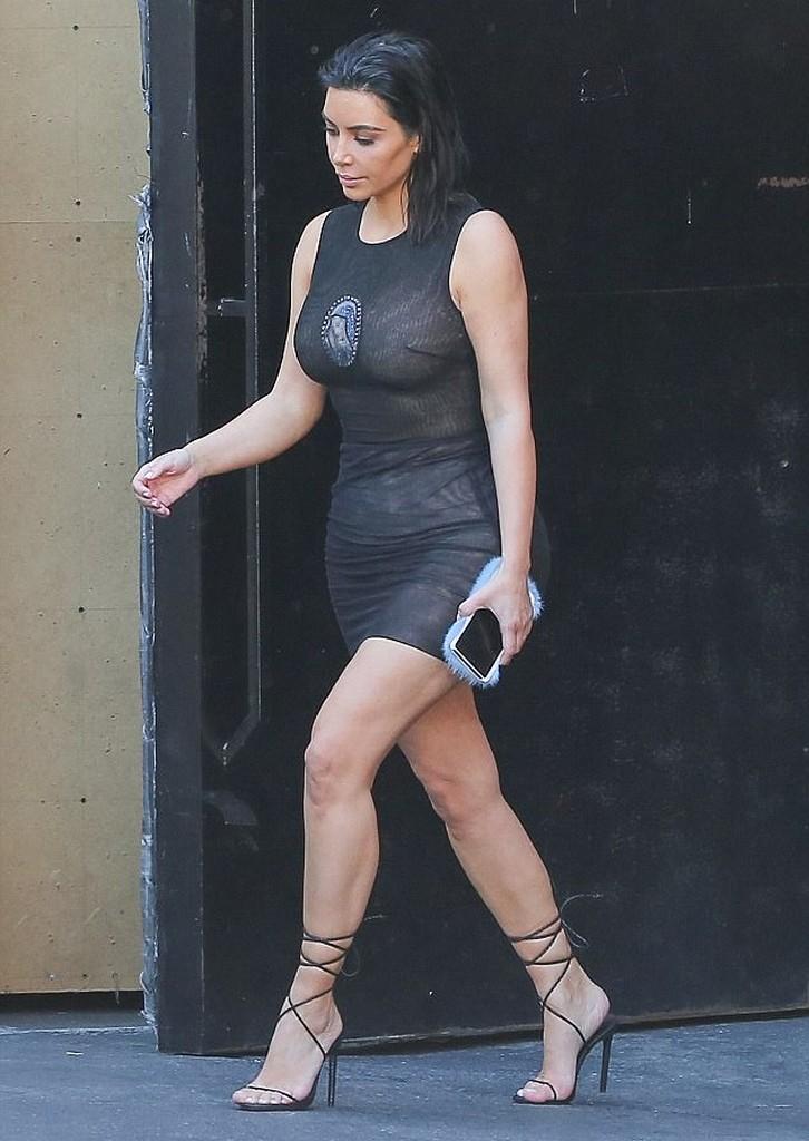 Kim Kardashian Wears mother Mary Dress Kim Kardashian Wears Sheer Dress With Virgin Mary (7 Pics)
