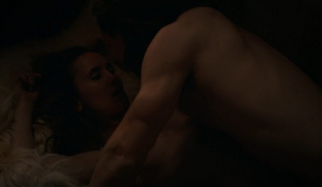 Peri Baumeister Sex Scene on The Last Kingdom Peri Baumeister HOT Naked Sex Scene In The Last Kingdom (6 Pics)