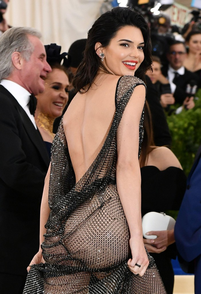 Kendall Jenner Hot Ass Pics TWB Photos Kendall Jenner Shows Amazing Ass In See Through Sheer Dress (7 Pics)