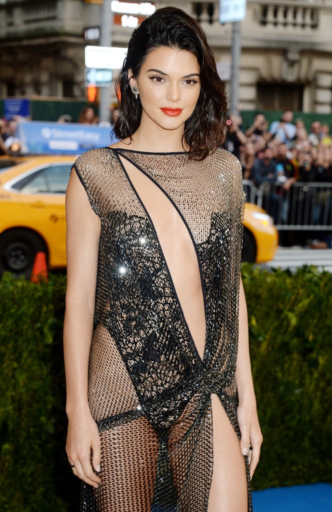 Kendall Jenner Hot Pics TWB Photos Kendall Jenner Shows Amazing Ass In See Through Sheer Dress (7 Pics)