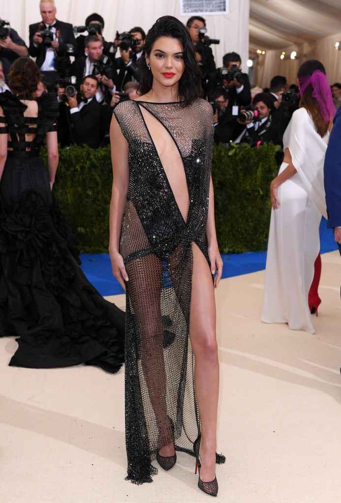 Kendall Jenner Sexy Pics In See Through Dress TWB Photos Kendall Jenner Shows Amazing Ass In See Through Sheer Dress (7 Pics)