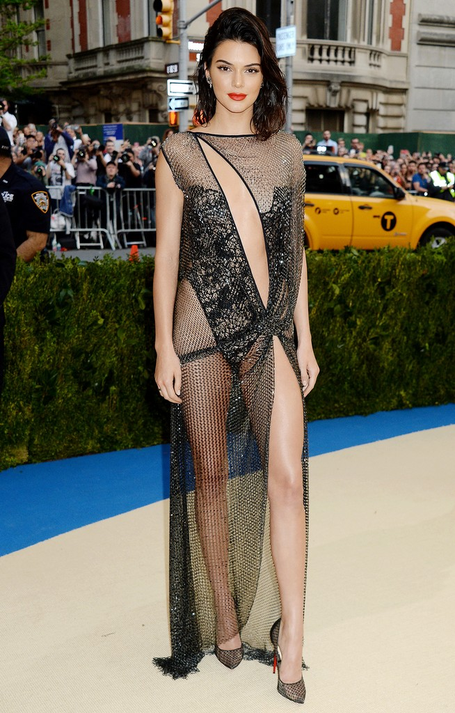 Kendall Jenner Sexy Pics TWB Photos Kendall Jenner Shows Amazing Ass In See Through Sheer Dress (7 Pics)