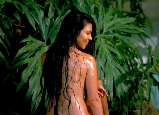 Kourtney Kardashian Nude in Costa Rica Kourtney Kardashian Nude Photos And Alone In A Jungle (3 Pics)