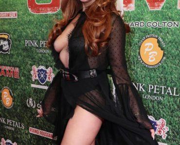Charlotte Dawson Wardrobe Malfunction