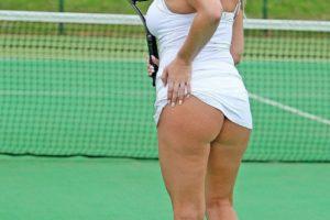Danielle Mason Flashes Butt