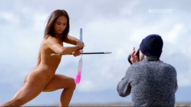 Michelle Waterson Photoshoot ESPN Michelle Waterson Nude Photo Shoot For ESPN Body (7 Photos)