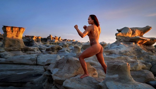 Michelle Waterson nude shoot for ESPN issue Michelle Waterson Nude Photo Shoot For ESPN Body (7 Photos)