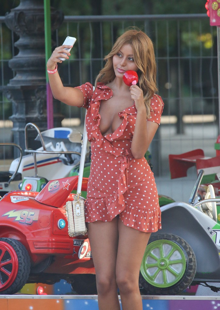 Zahia Dehar Braless 3 Zahia Dehar Boobs Nip Slip Moment ( 17 Photos)
